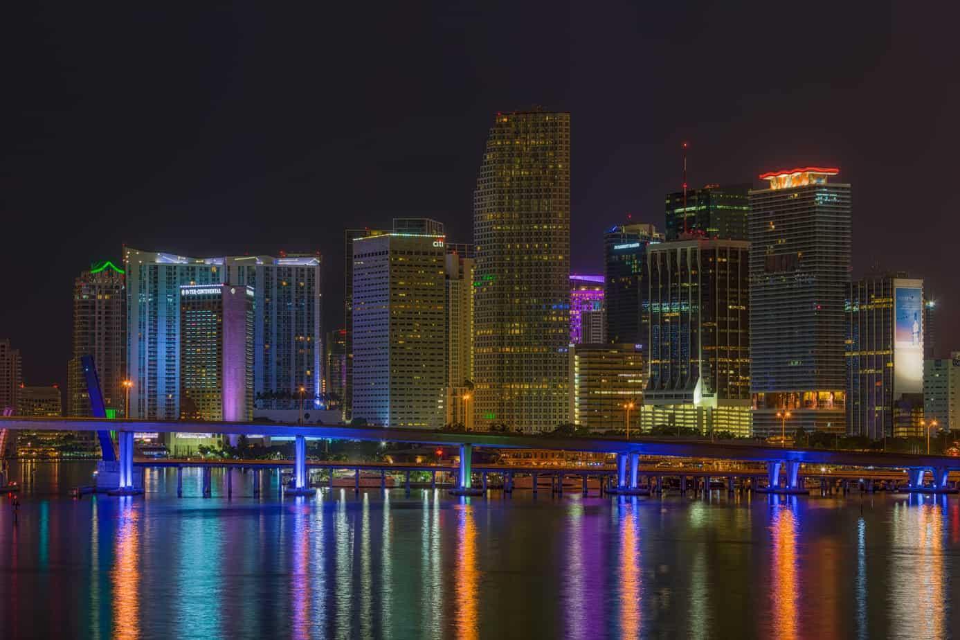 Miami Skyline Buildings