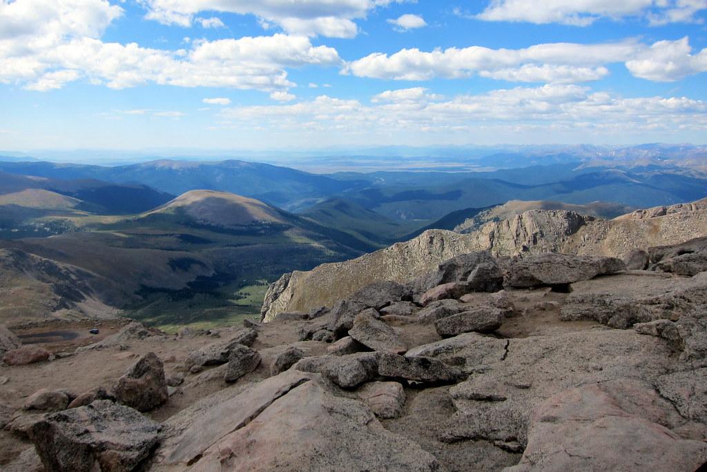 Mount Evans Summit View